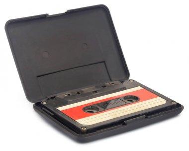 Closeup of Old cassette