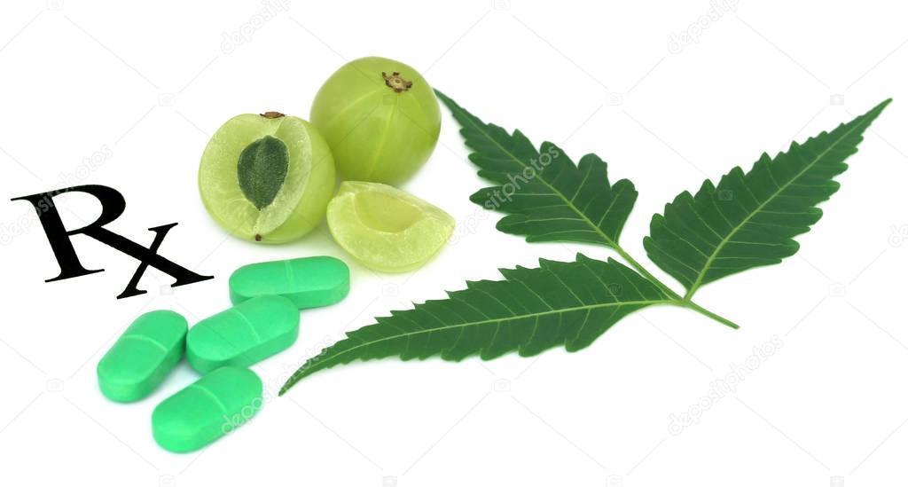 Amla fruits prescribed as alternative medicine