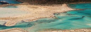Bay Balos. The island of Crete