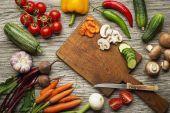 Növényi főzés előkészítése