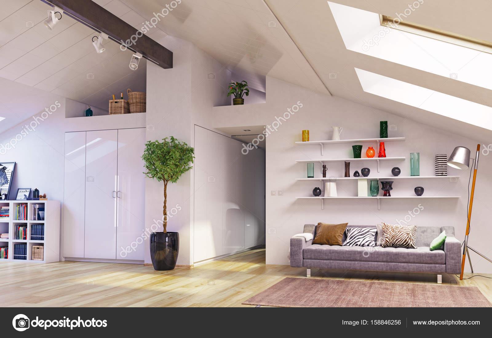 Conception De L Etage Attique Photographie Vicnt2815 C 158846256