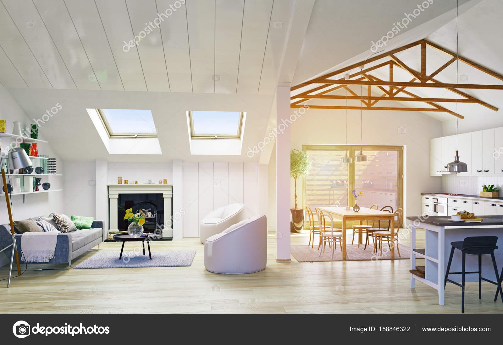 Conception De L Etage Attique Photographie Vicnt2815 C 158846322