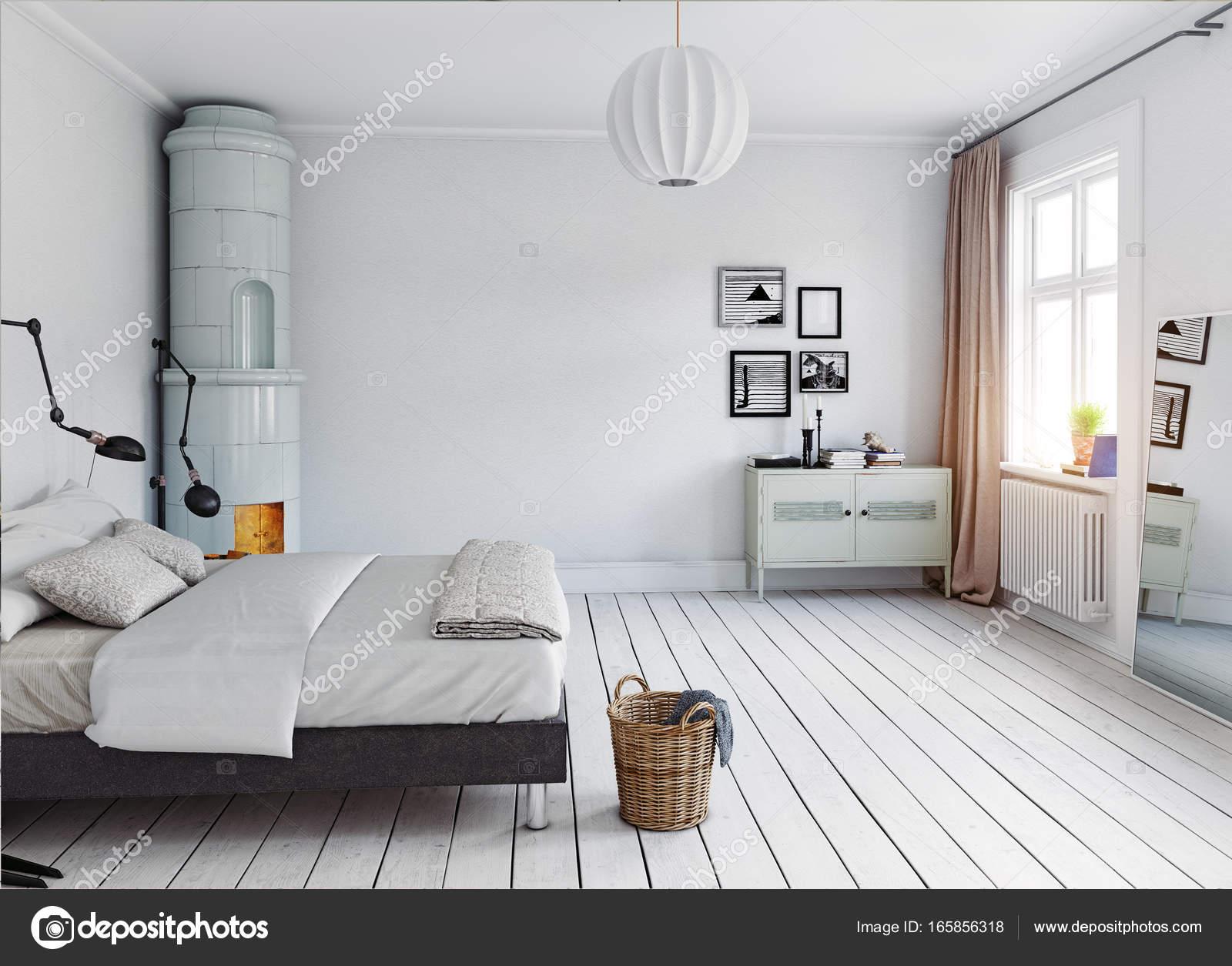 moderne slaapkamer interieur — Stockfoto © vicnt2815 #165856318