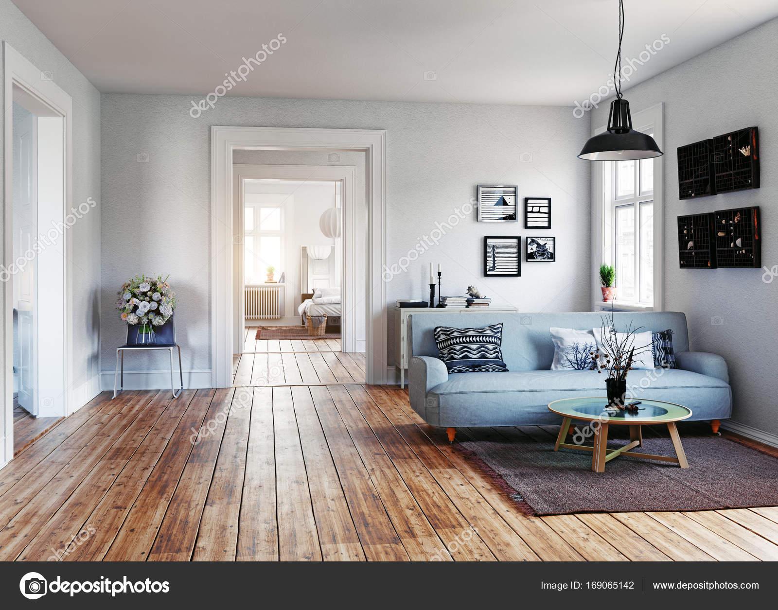 Modern appartement interieur u stockfoto vicnt