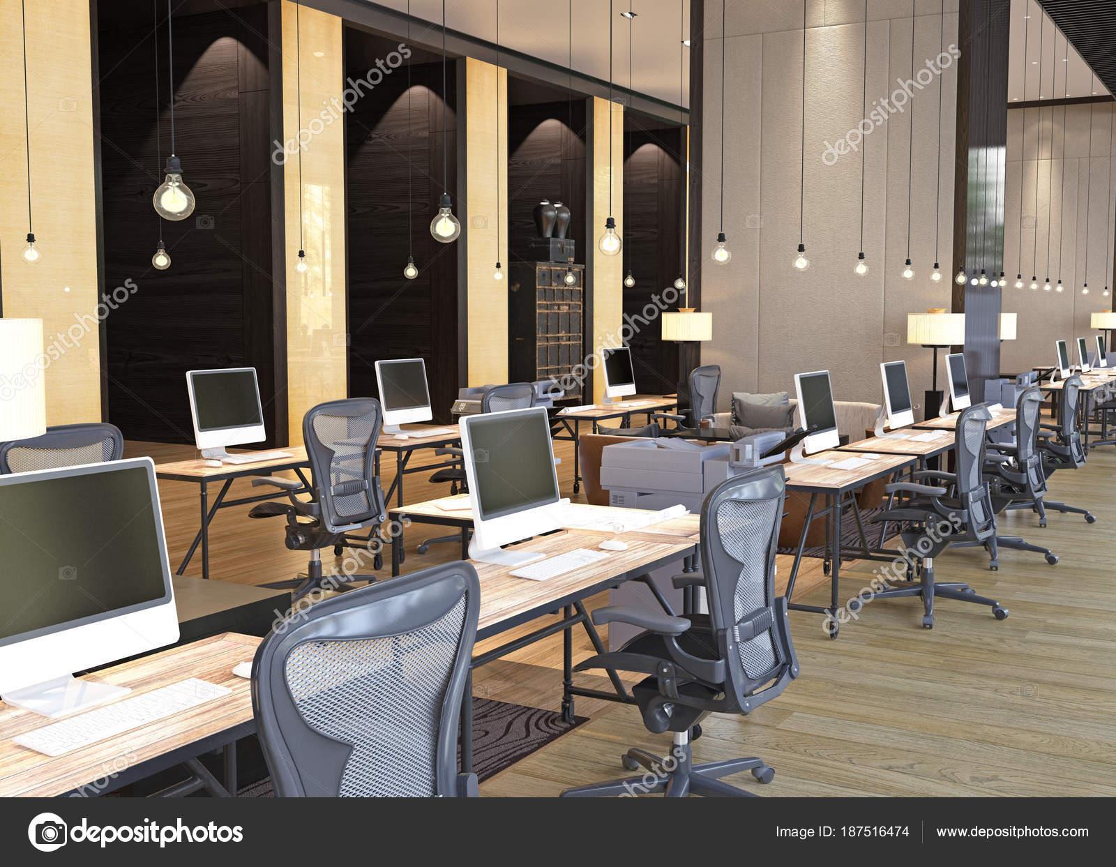 Ufficio Moderno Foto : Interno di ufficio moderno u foto stock vicnt