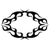 Elemento di disegno di tatuaggi tribali. Tatuaggio tribale di arte