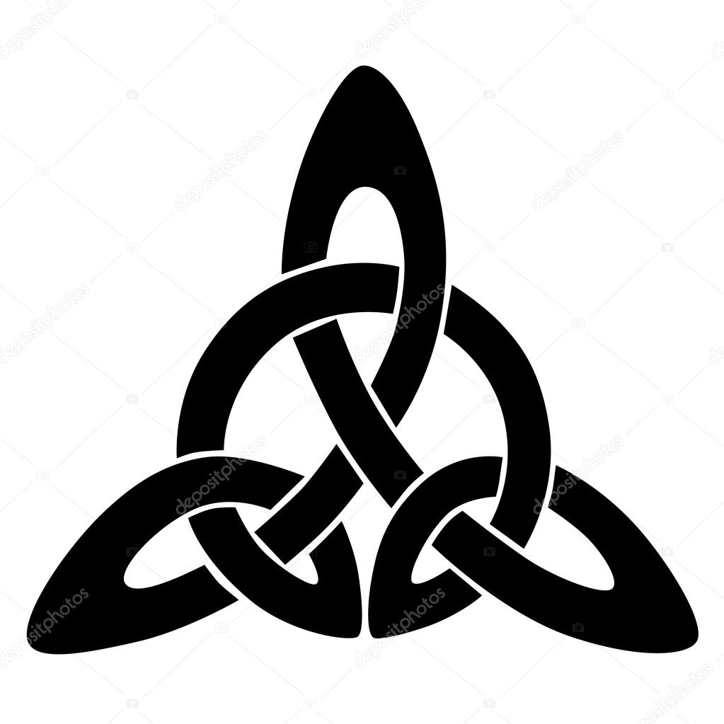 Celtic knot stencils for tattoo or another design. Vector ...