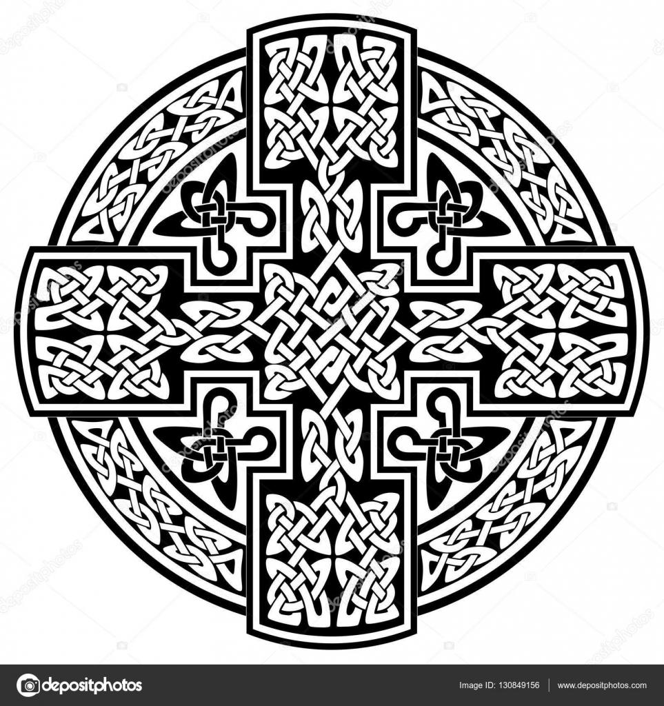 Krzyż Celtycki Wektor Grafika Wektorowa 1rudvi 130849156