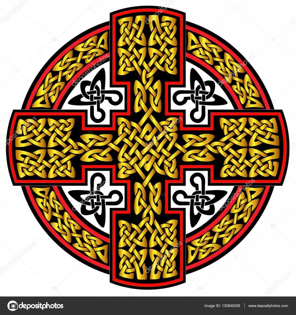 Krzyż Celtycki Wektor Grafika Wektorowa 1rudvi 130849206