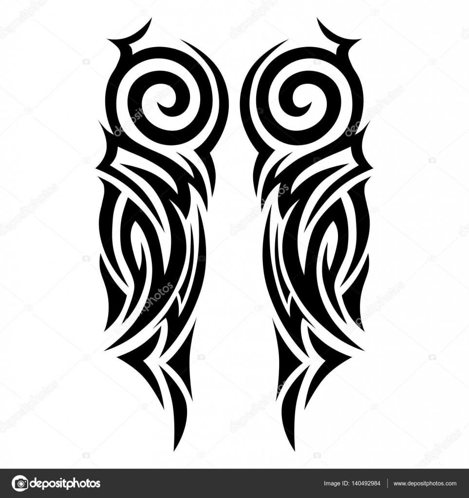 Disenos Tribales Innovadores: Tribal Tattoos Design Element.