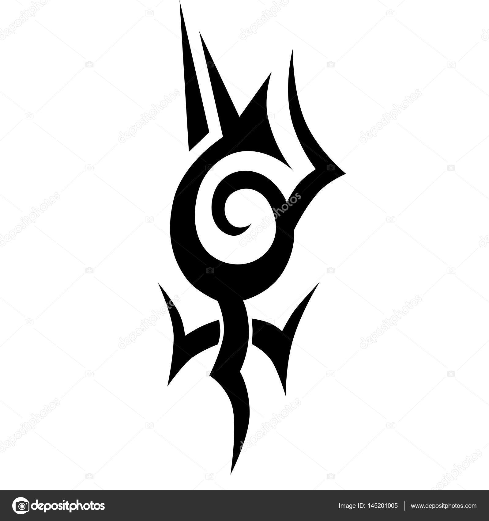 Dise os tribales tatuajes tribales tatuaje tribal del - Dibujos tribales para tatuar ...