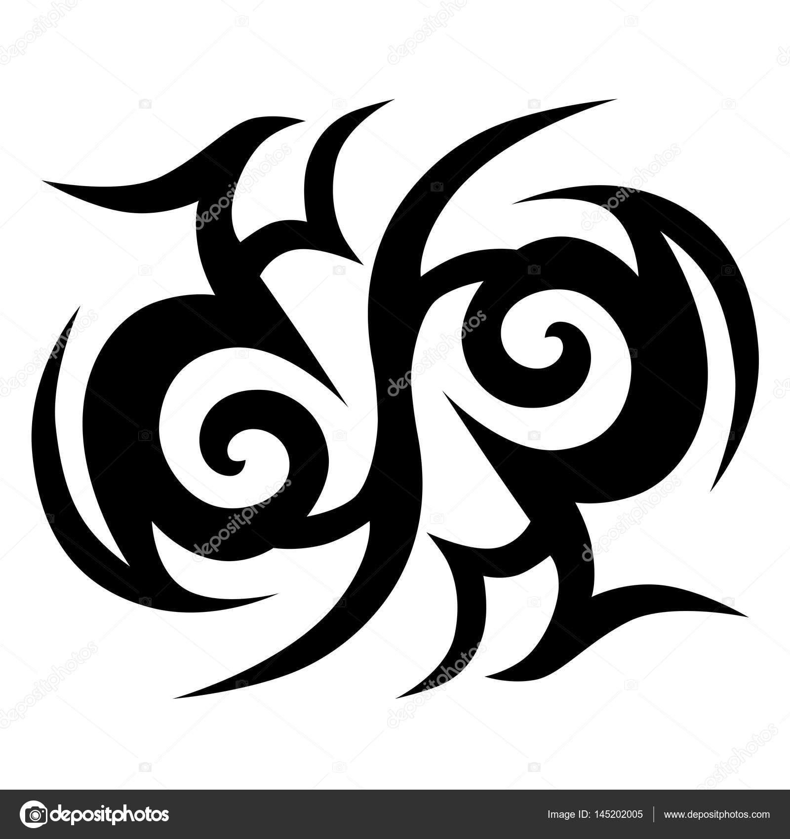 Tribal Ontwerpen Tribal Tattoos Tribal Tattoo Art Stockvector