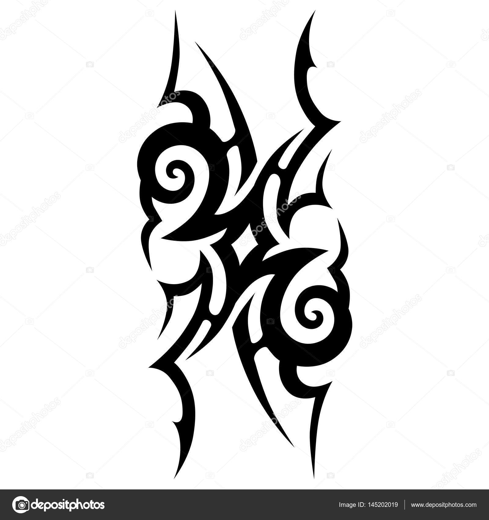 Tribal Ontwerpen Tribal Tattoos Tribal Tattoo Art Stockvector