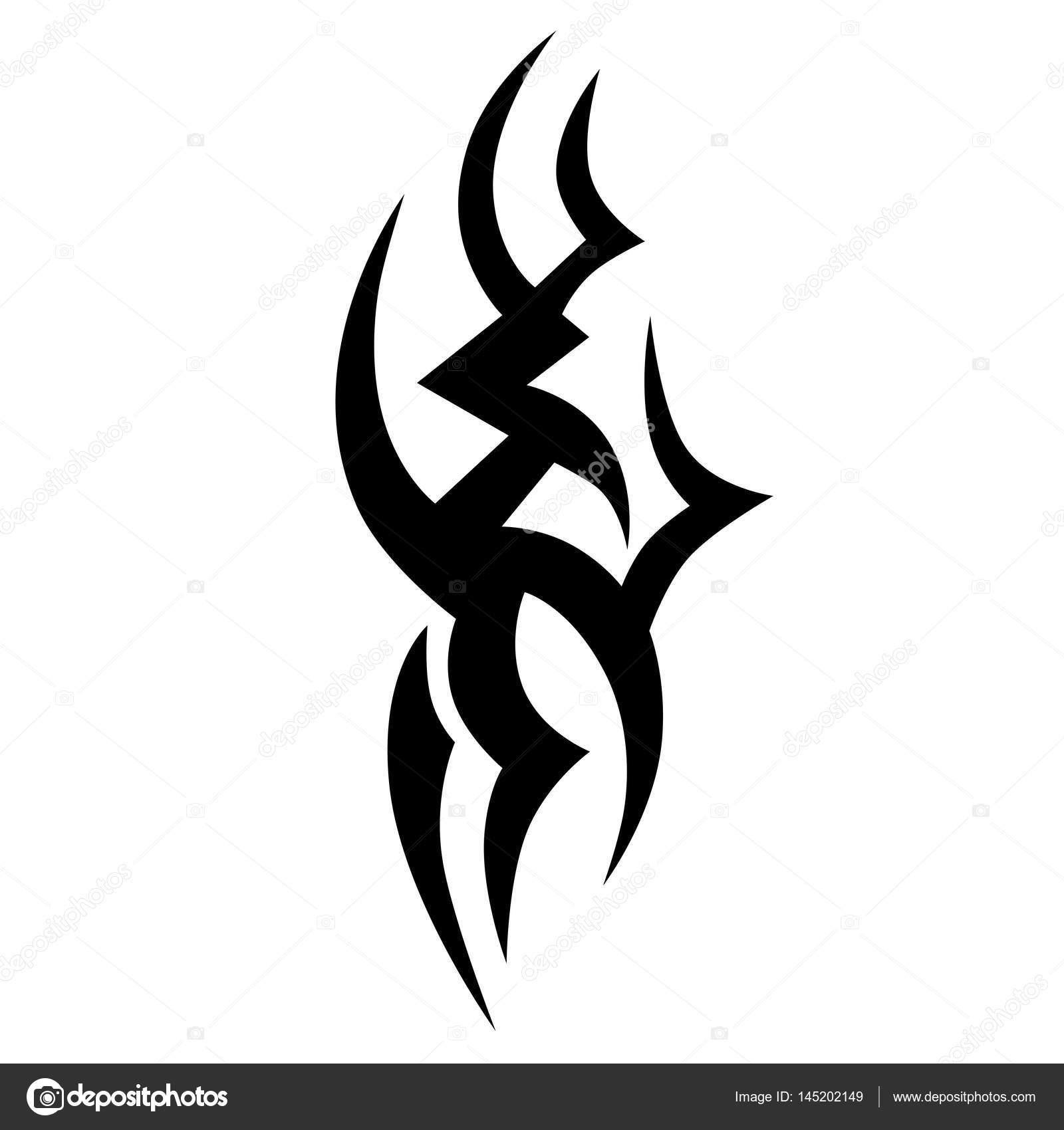 Tribal Designs Tribal Tattoos Art Tribal Tattoo Stock Vector