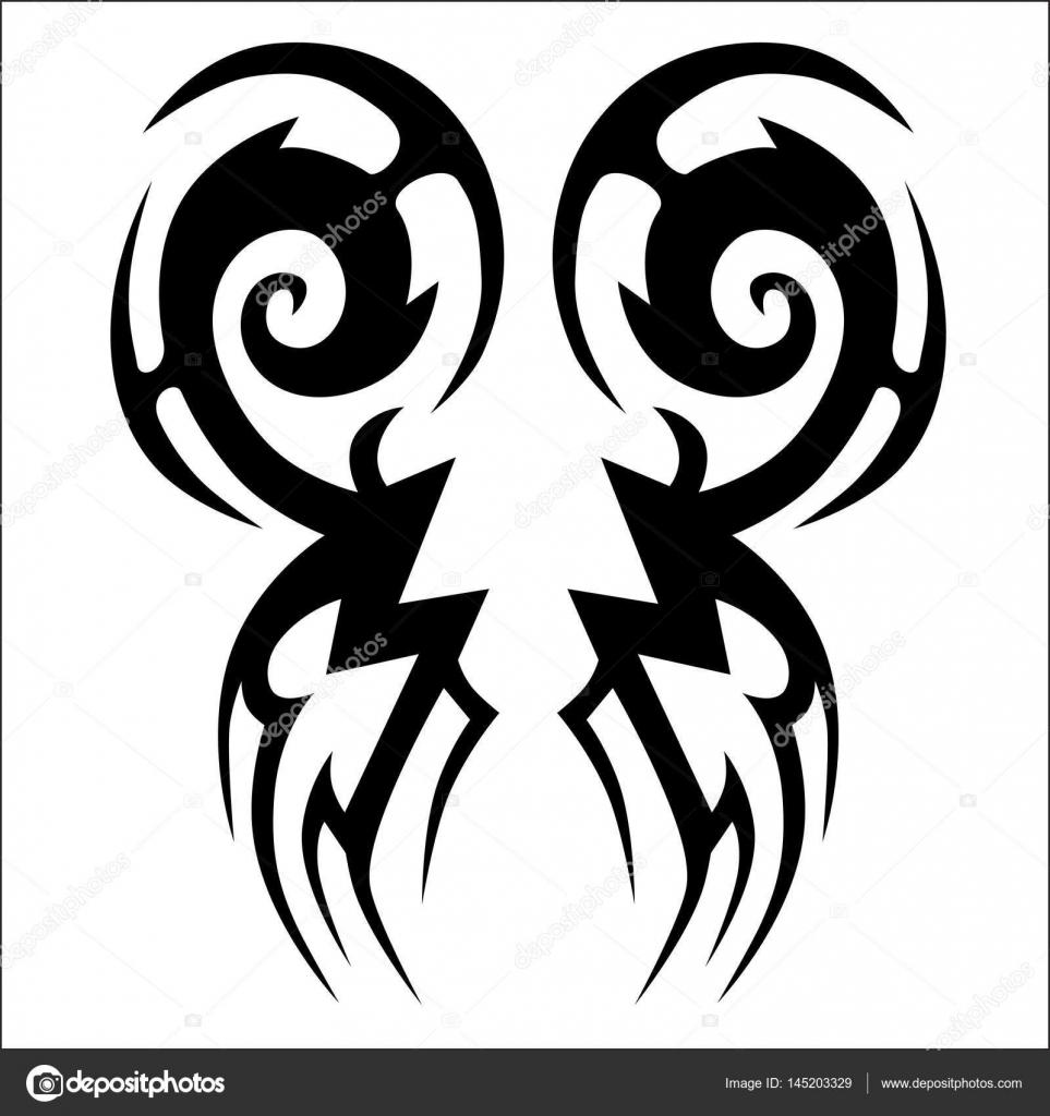Dibujos Ver Stencil Diseños Tribales Tatuajes Tribales Tatuaje