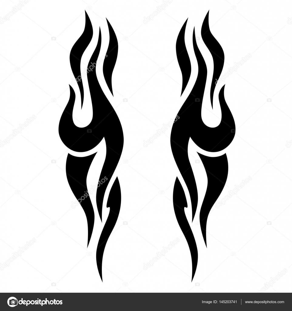 dessins tribaux tatouages tribaux tatouage tribal art image vectorielle 1rudvi 145203741. Black Bedroom Furniture Sets. Home Design Ideas