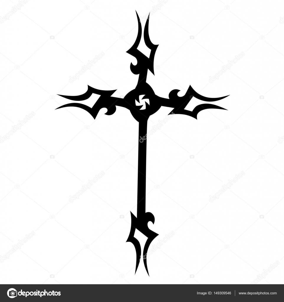 Dibujos Cruces Para Tatuar Tatuajes Tribales Diseños Cruzados