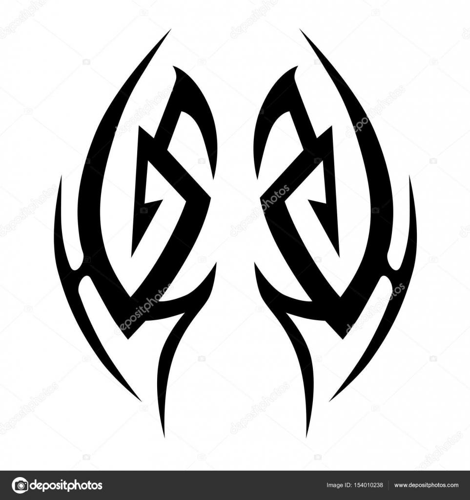 Tatuaje Dragon Tribal Hombro Diseños De Vectores Tribales De
