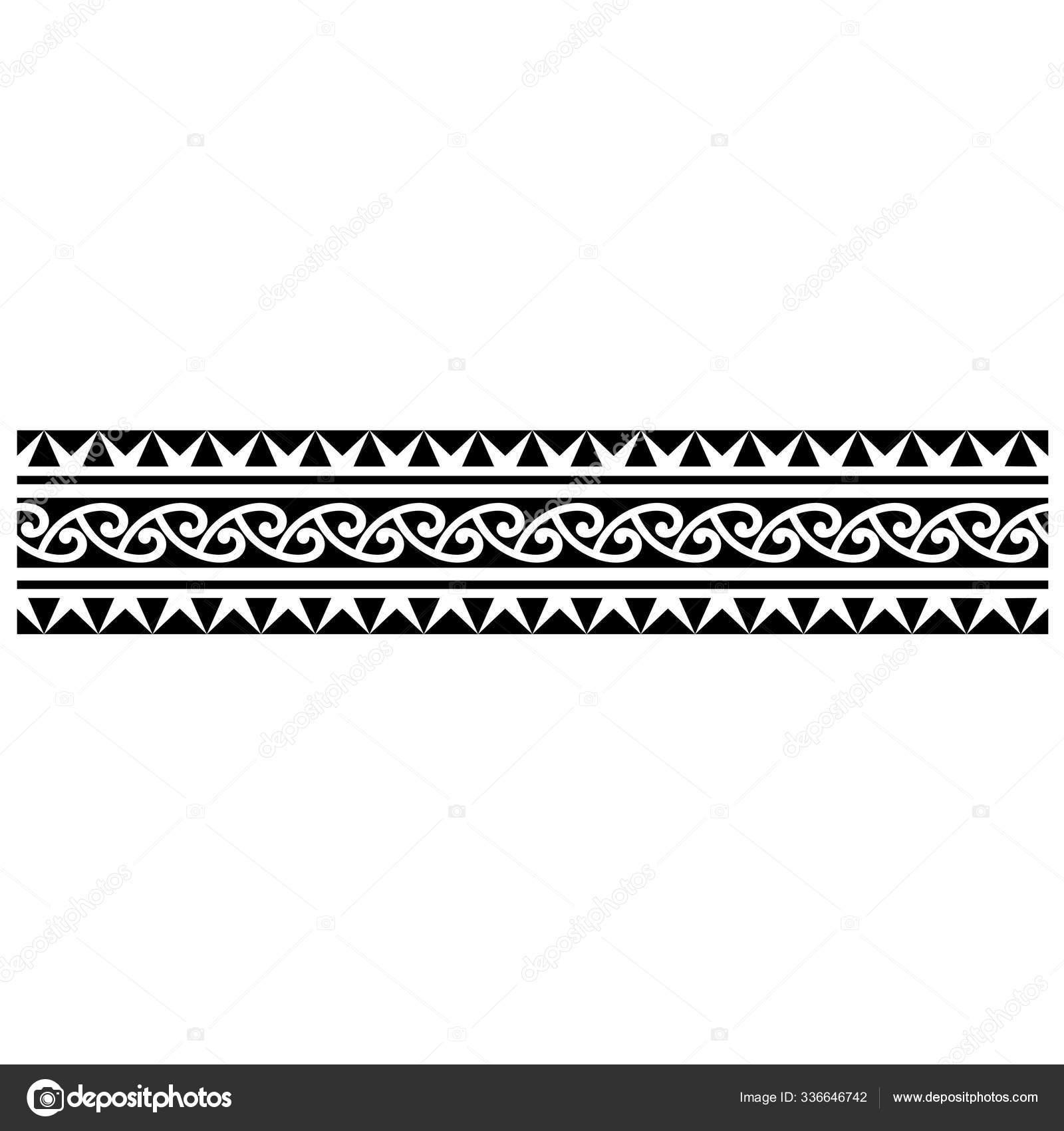 Tattoo Arm Band Tattoo Hand Band Maori Tattoo Maori Tribal Stock ...
