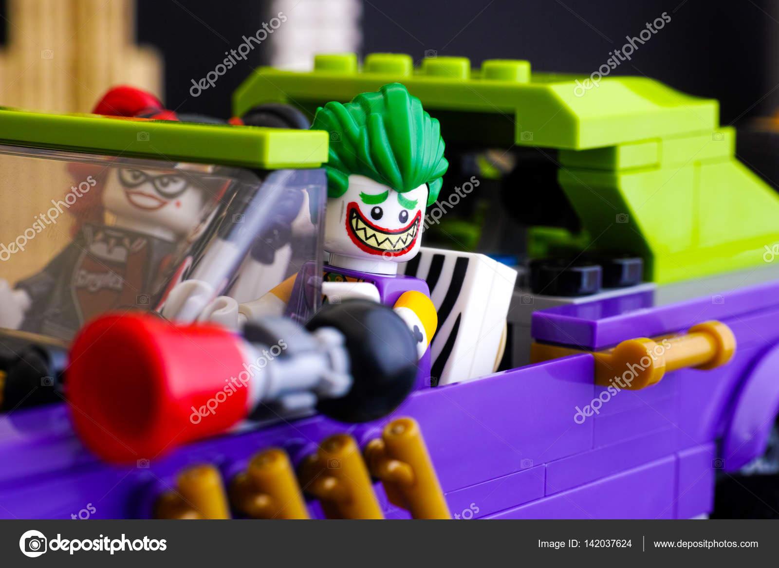 Lego The Joker en Harley Quinn Minifiguren in The Joker Notorio ...