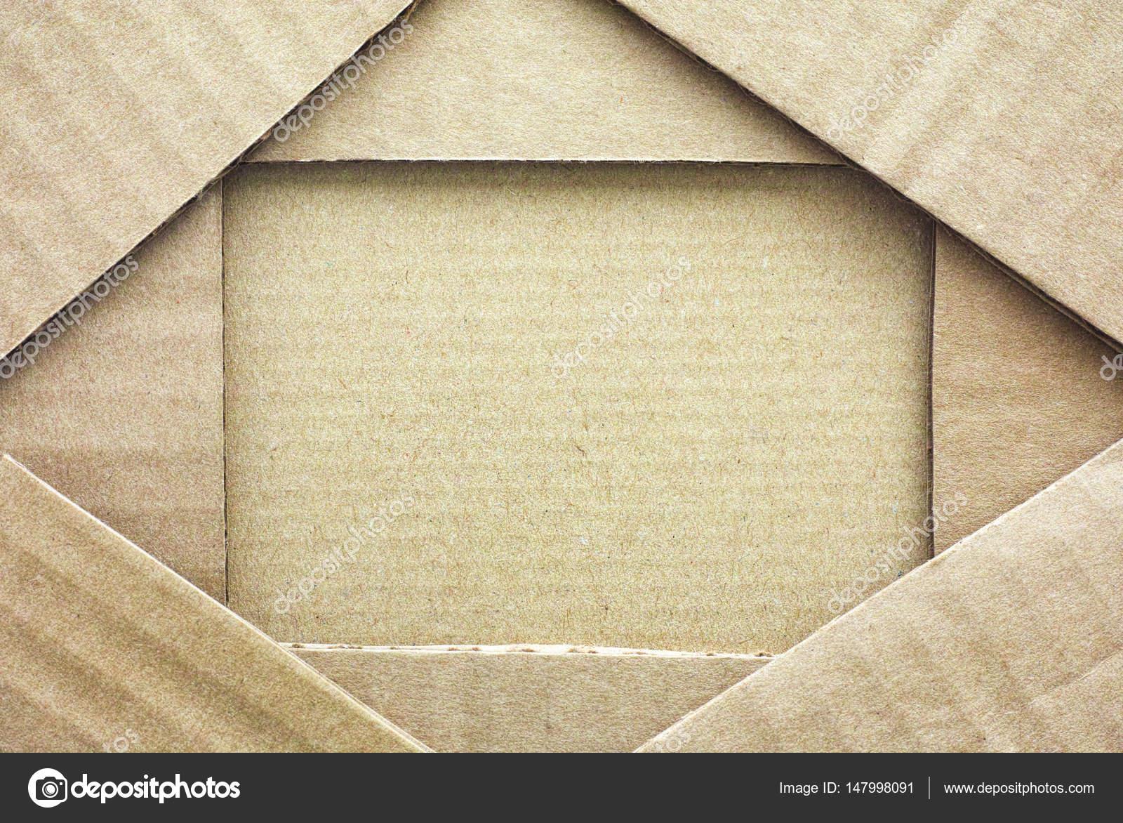 Papprahmen mit Stück Pappe — Stockfoto © Rosinka79 #147998091