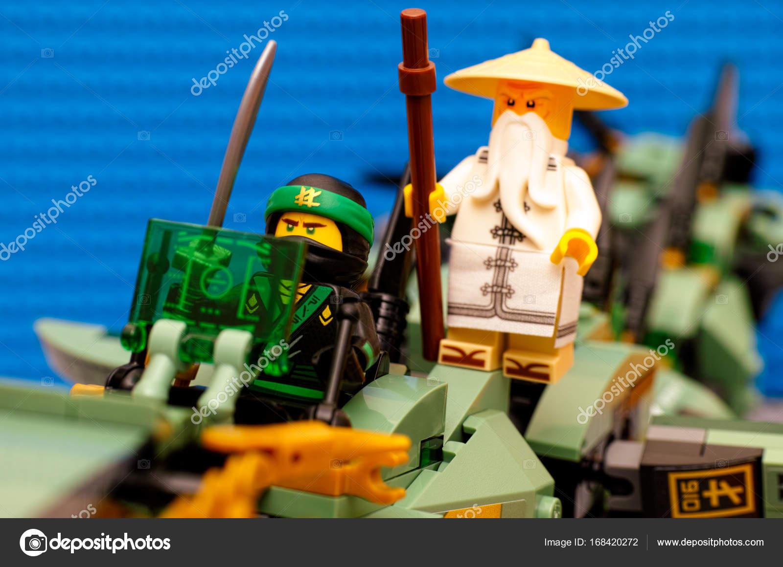 Blue Ninjago Image Lego Ninjago Movie The Green Ninja And Wu Flying On Green Ninja Stock Editorial Photo C Rosinka79 168420272