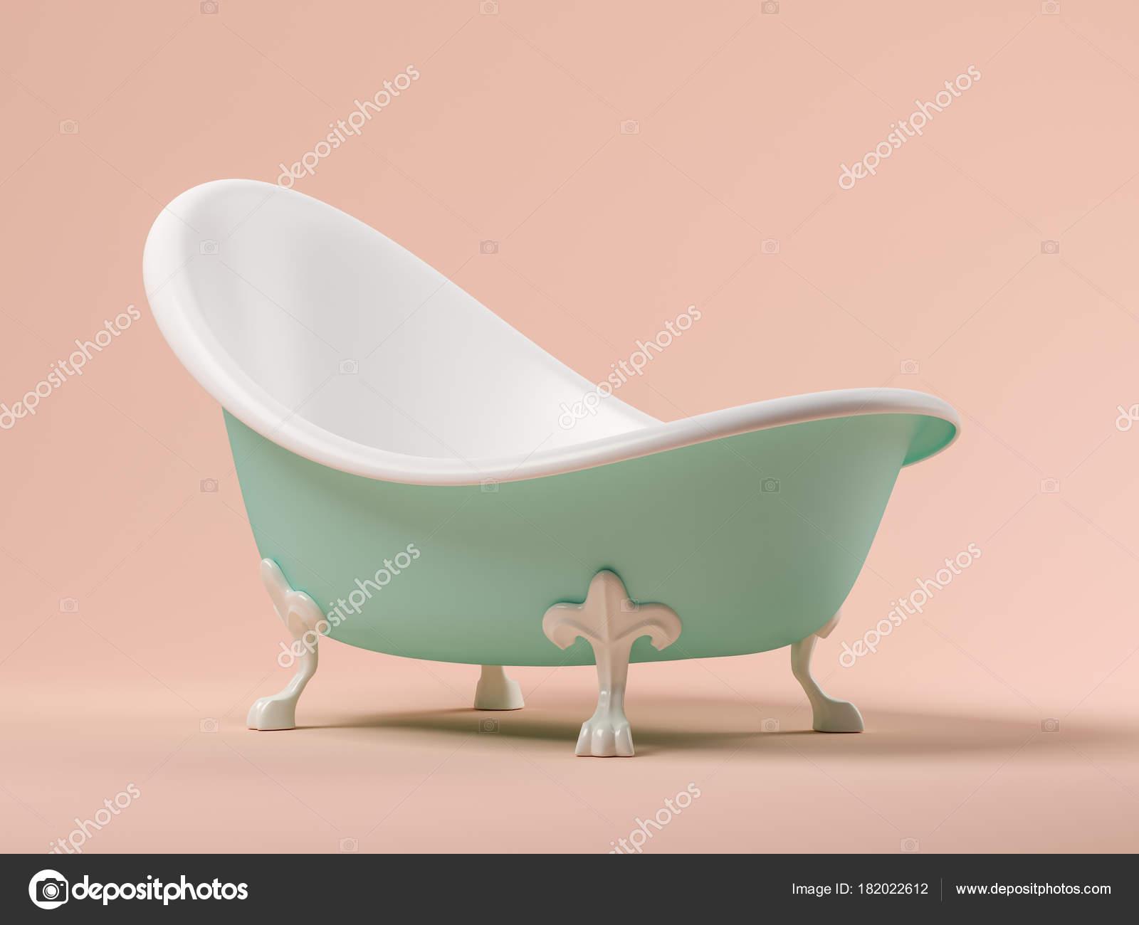 Vasca Da Bagno Vintage Prezzi : Vasca da bagno vintage blu su fondo rosa d u foto stock hemul