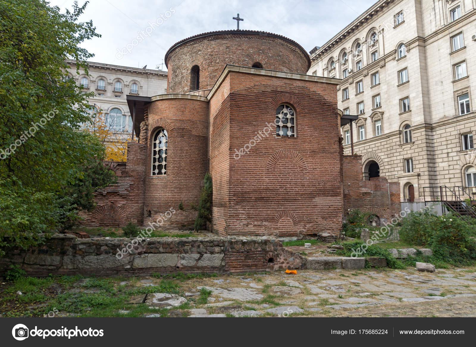Фотография церкви святого георгия в болгарии