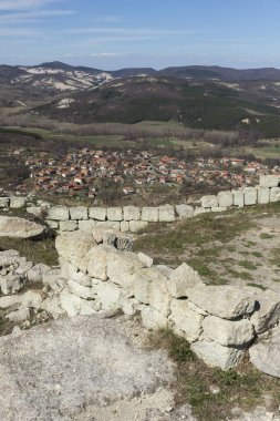Ruins of The ancient Thracian city of Perperikon, Bulgaria
