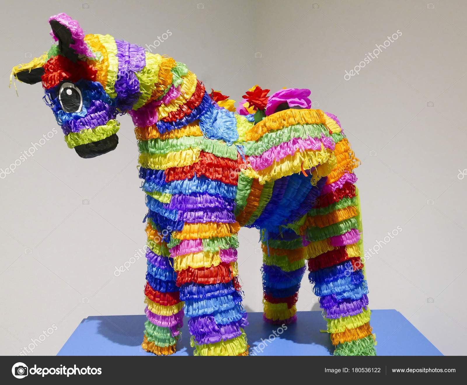 Pictures : paper mache | Paper Mache Pinata Rainbow Colored