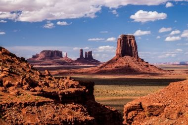 Monument Valley Iconic  Landscape
