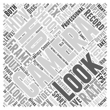 Word cloud concept with text vector background