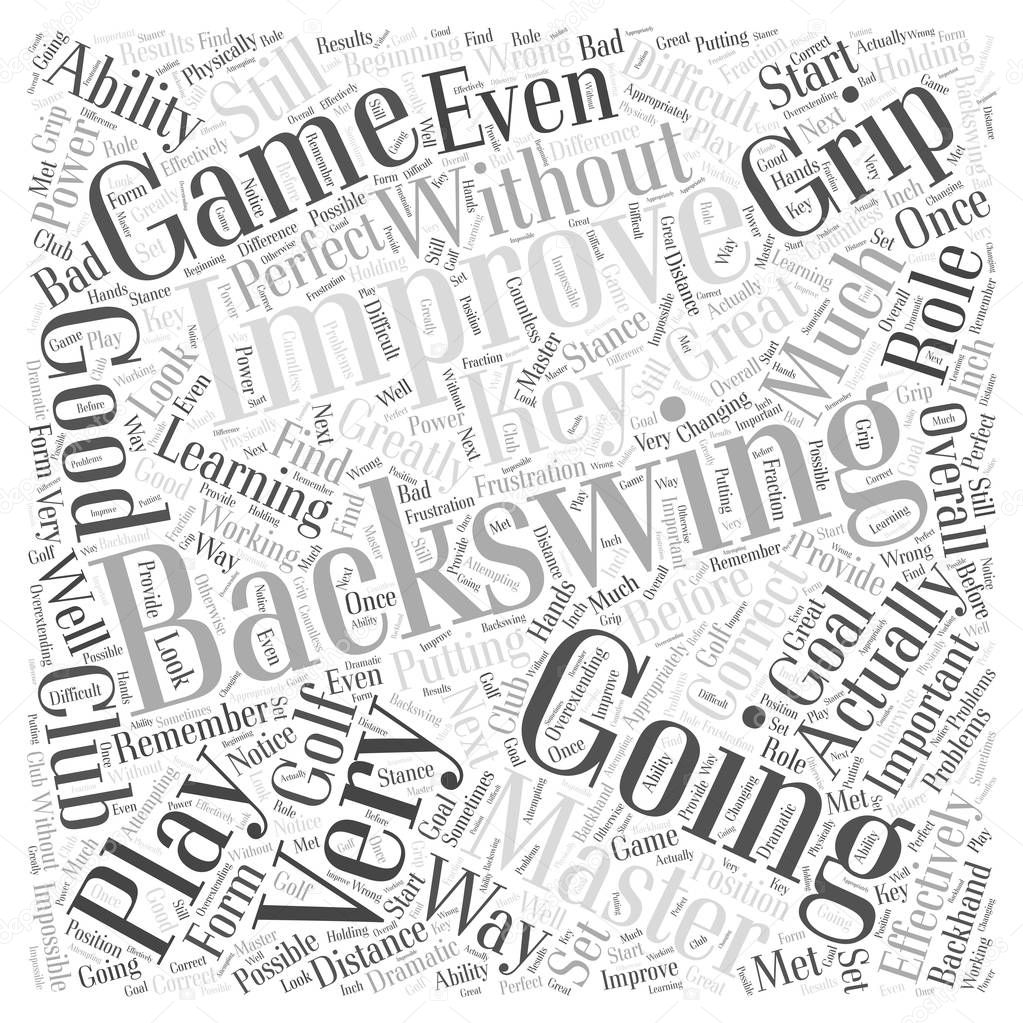 improving your backswing effectively word cloud concept stock PCI Device improving your backswing effectively word cloud concept stock vector