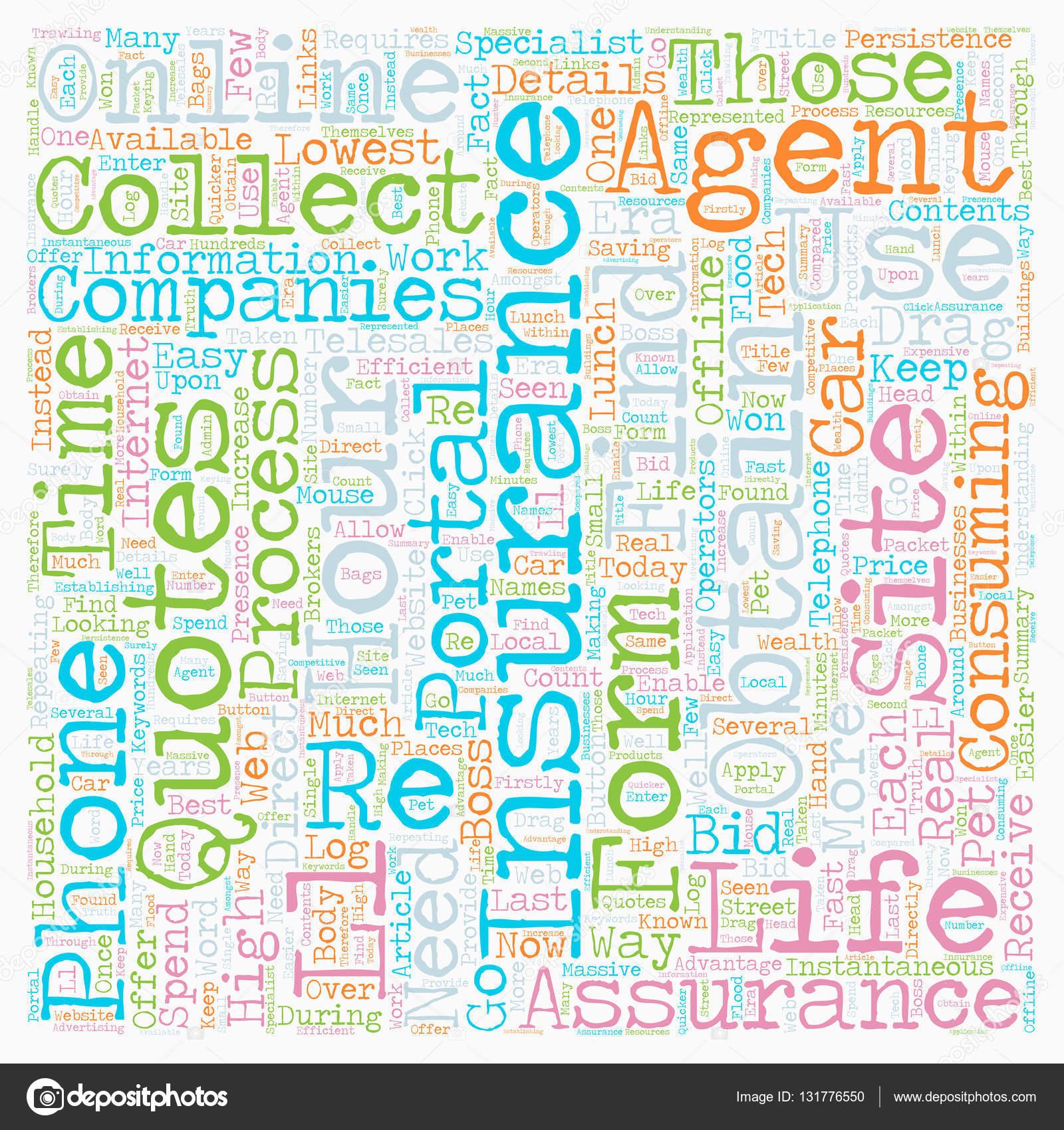 Image of: Instant Online Insurance Quotes Tekst Achtergrond Wordcloud Concept Stockvector Travel Insurance Review Online Insurance Quotes Tekst Achtergrond Wordcloud Concept