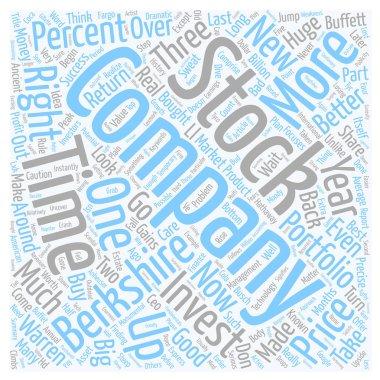 How You Can Do Much Better Than Warren Buffet text background wordcloud concept