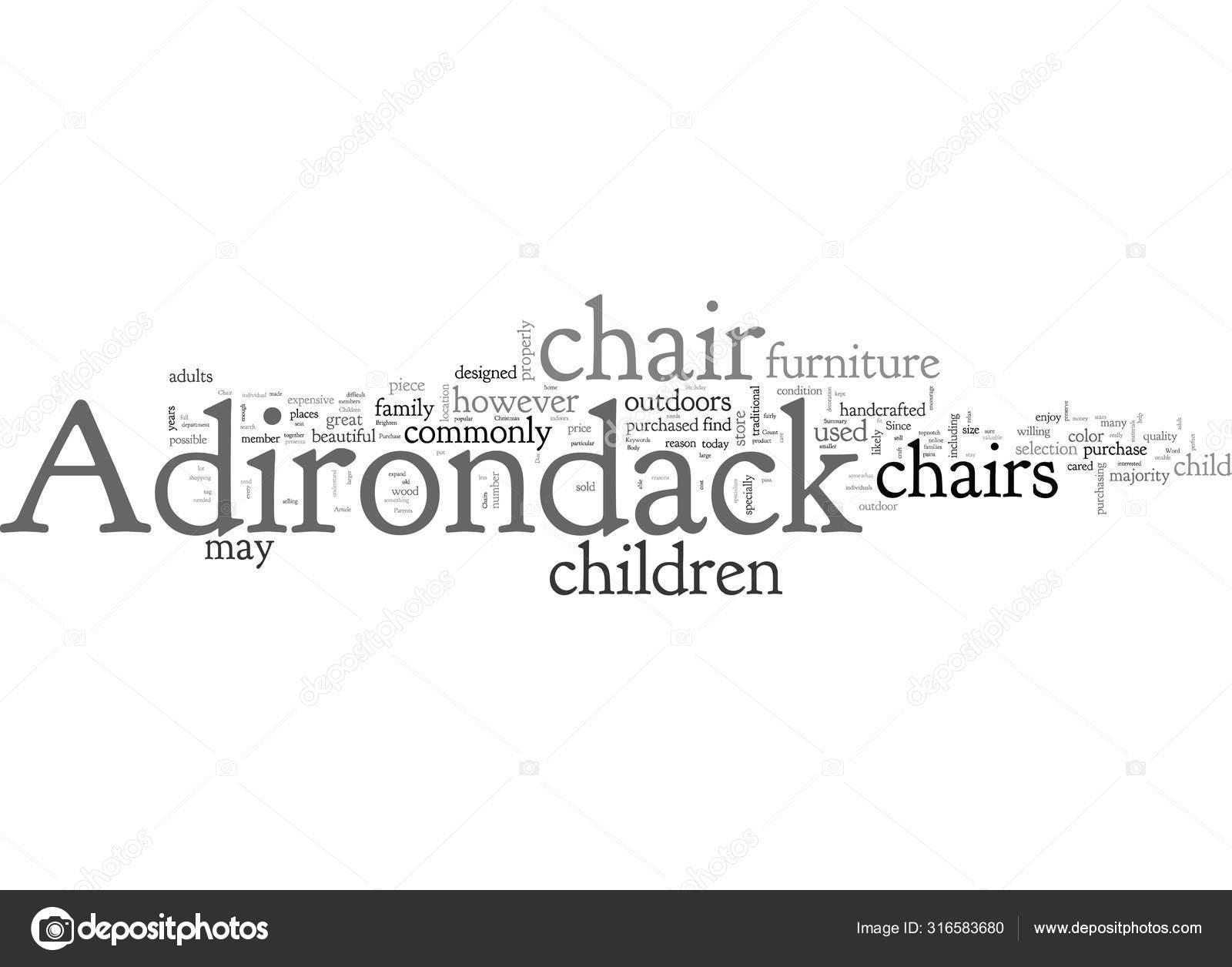 Adirondack Chairs Vector Stock Vectors Royalty Free