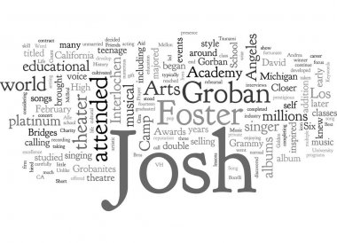 A Short Life History On Josh Groban