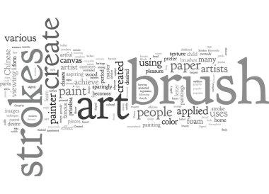 Art Created By Creative Brush Strokes