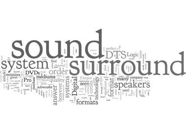 """Картина, постер, плакат, фотообои """"common surround sound formats"""", артикул 316610202"""