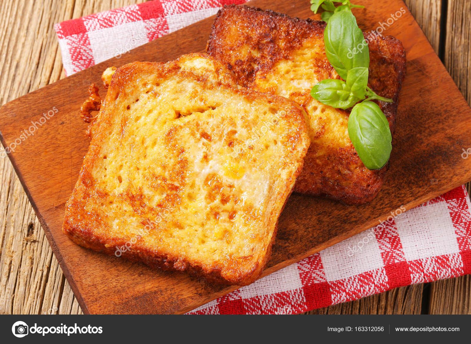 French Toast Scheiben — Stockfoto © ajafoto #163312056
