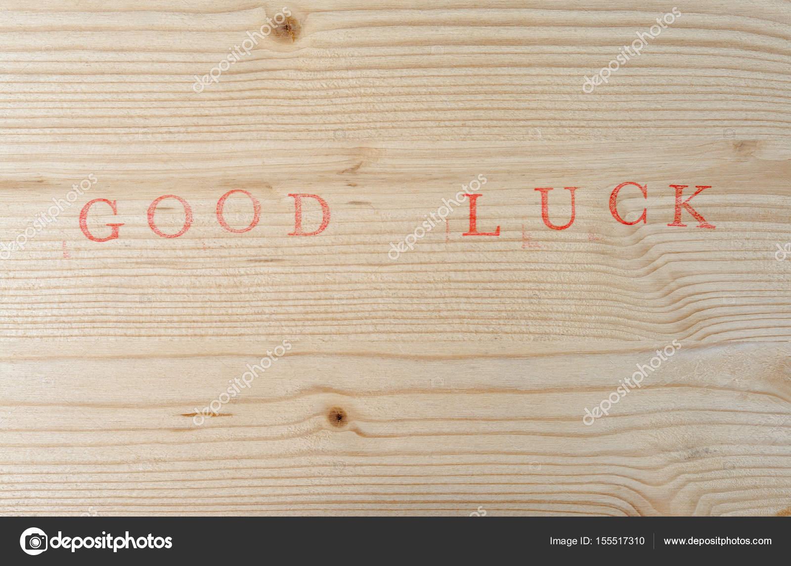 Assi Di Legno Hd : Buona fortuna per il legno u foto stock hd design