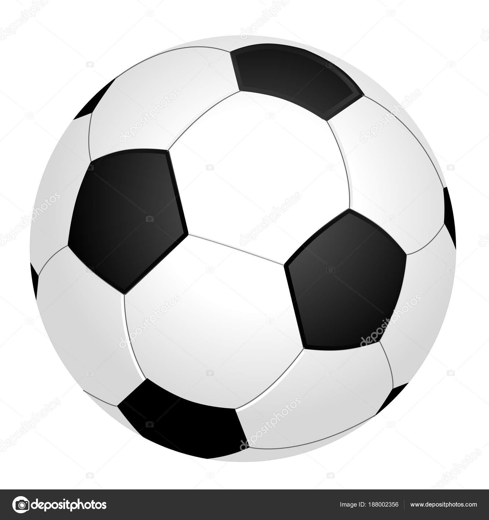zwart wit voetbal bal voetbal grafisch witte achtergrond