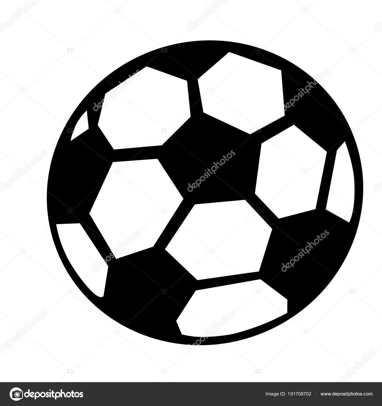 Schwarzen Und Weissen Fussball Ball Oder Fussball Grafik Weisser