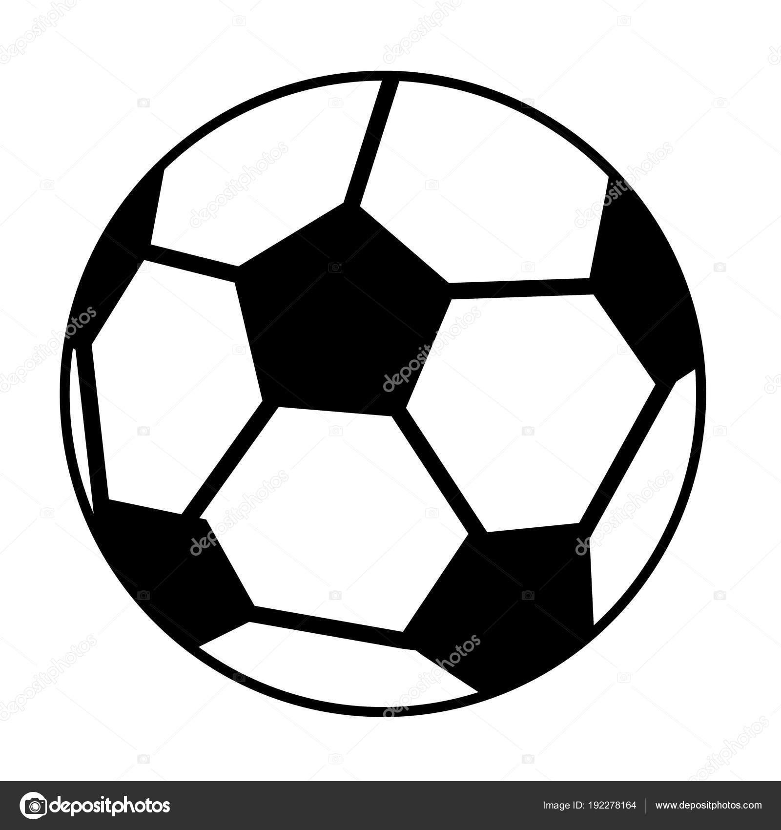 Soccer Ball Oder Fussball Grafik Weisser Hintergrund