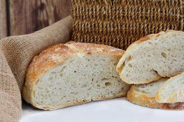 Sliced loaf artisan bread