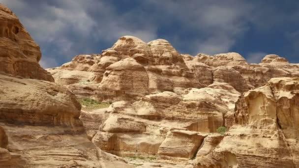 Petra, Jordánia, Közel-Kelet hegyei