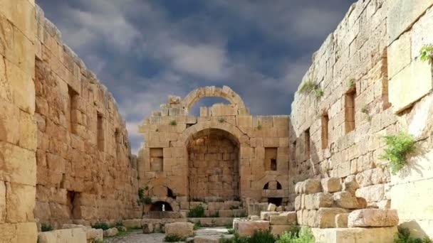 başkenti ve en büyük jerash governorate, Ürdün jerash (Antik gerasa), Ürdün şehirde roman ruins
