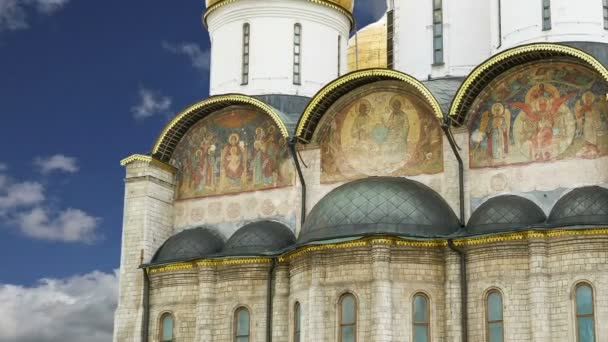 Assumption Cathedral (was the site of coronation of Russian tsars), Moscow Kremlin, Russia. UNESCO World Heritage Site