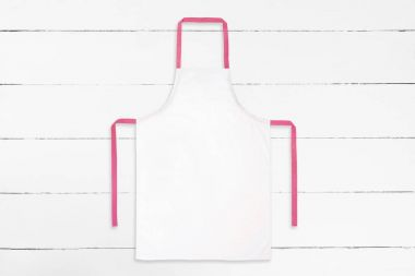 Apron on old background