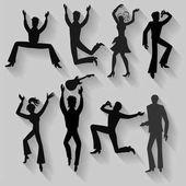 Tänzer, Sänger (Mann, Frau) Set
